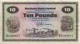 Nordirland / Northern Ireland P.189e 10 Pounds 1971 (3)