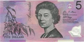 Australien / Australia P.57f 5 Dollars (20)08 BA 08 Polymer (1) first prefix