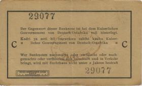 R.917b: 1 Rupie 1915 C Seidenschwarz (2)