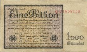 R.131a: 1 Billion Mark 1923 Reichsdruck (3)