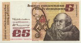 Irland / Ireland P.71b 5 Pounds 1976 (1)