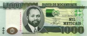 Mozambique P.154 1000 Meticais 2011 (1)