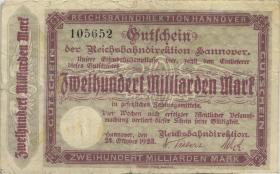 PS1259 Reichsbahn Hannover 200 Milliarden Mark 1923 (4)