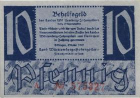 R.215a: Württemberg 10 Pf. 1947 A (1/1-)