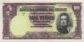 Uruguay P.045 1000 Pesos (1967) (2)