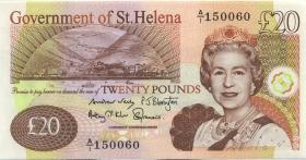 St. Helena / Saint Helena P.13b 20 Pounds 2012 (1)