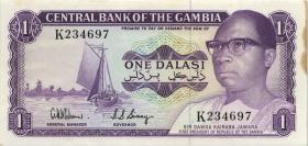 Gambia P.04d 1 Dalasi (1971-87) (1/1-)