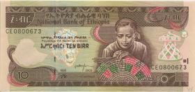Äthiopien / Ethiopia P.48c 10 Birr 2003 (1)