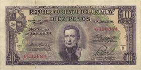 Uruguay P.042a 10 Pesos L 1939 (1967) (3)
