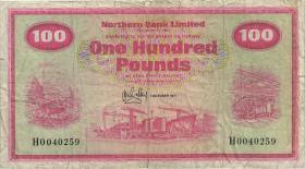 Nordirland / Northern Ireland P.192b 100 Pounds 1971 (4)
