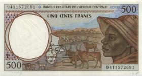 Zentral-Afrikanische-Staaten / Central African States P.601Pb 500 Fr. 1994 (1)