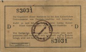 R.917d: 1 Rupie 1915 D (2)