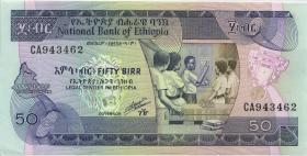 Äthiopien / Ethiopia P.44b 50 Birr (1991) (1)