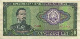Rumänien / Romania P.096 50 Lei 1966 (3)