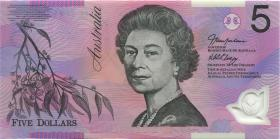 Australien / Australia P.57d 5 Dollars (2006) BA 06 Polymer (1) 1. prefix