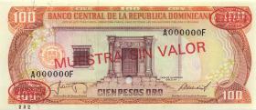Dom. Republik/Dominican Republic P.121s2 50 Pesos Oro 1987 Specimen (1)