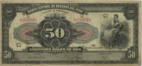 Peru P.068A 50 Soles 1941 (3)
