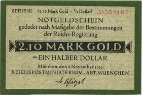 MG508.17 RPM München 2.10 Mark Gold (1/1-)