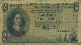 Südafrika / South Africa P.104a 2 Rand (1961) (4)