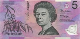Australien / Australia P.57b 5 Dollars (20)03 EA 03 Polymer (1) last prefix