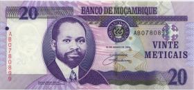Mozambique P.143 20 Meticais 2006 (1)