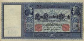 R.035: 100 Mark 1908 (3+)