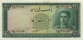 Iran P.051 200 Rials (1951) (3+)
