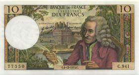 Frankreich / France P.147d 10 Francs 6.12.1973 (1)
