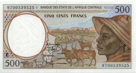 Zentral-Afrikanische-Staaten / Central African States P.201Ed 500 Francs 1997 (1)