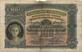 Schweiz / Switzerland P.28 100 Franken 1923 (5)