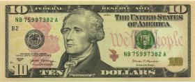 USA / United States 10 Dollar 2017 (1)