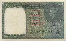 Burma P.30 1 Rupie (1947) (3+)