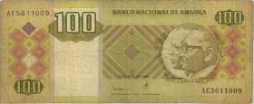 Angola P.147a 100 Kwanzas 1999 (3-)