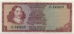 Südafrika / South Africa P.116b 1 Rand (1973-75) (Afrikaans) (2)