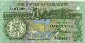 Guernsey P.52b 1 Pound (ab 1991) Z replacement (1)