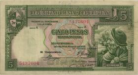 Uruguay P.029 5 Pesos 1935 (3)