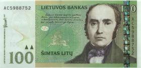 Litauen / Lithuania P.70 100 Litu 2007 (1)