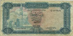 Libyen / Libya P.35b 1 Dinar (1972) (4)