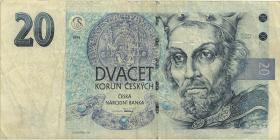 Tschechien / Czech Republic P.10a 20 Kronen 1994 (3)