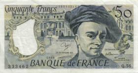 Frankreich / France P.152 50 Francs 1979-1992 (3+)