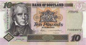 Schottland / Scotland P.120e 10 Pounds 2006 FX 9999472 (1)
