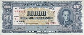 Bolivien / Bolivia P.151 10000 Bolivianos L. 1945 (1)