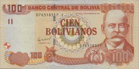 Bolivien / Bolivia P.241 100 Bolivianos (2011) (1)