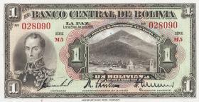 Bolivien / Bolivia P.118 1 Boliviano 1928 (1)