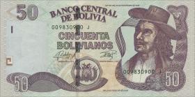 Bolivien / Bolivia P.245 50 Bolivianos (2015) (1)
