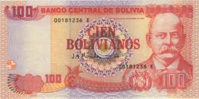 Bolivien / Bolivia P.207b 100 Bolivianos (1997) (1)