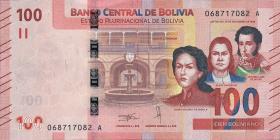 Bolivien / Bolivia P.neu 100 Boliviano (2018) (1)