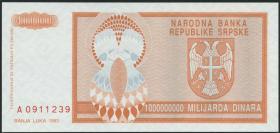 Bosnien & Herzegowina / Bosnia P.147 1.000.000.000 Dinara 1993 (1)
