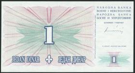 Bosnien & Herzegowina / Bosnia P.039 1 Dinar 1994 (1)