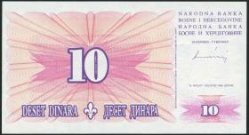 Bosnien & Herzegowina / Bosnia P.041 10 Dinara 1994 (1)